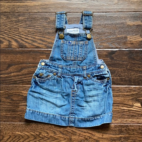 Baby Gap Overall Dress